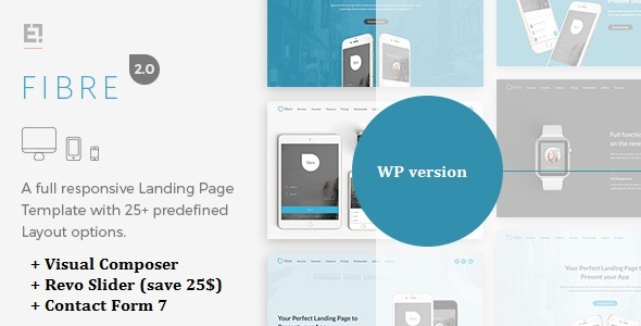 Fibre Preview Wordpress Theme - Rating, Reviews, Preview, Demo & Download