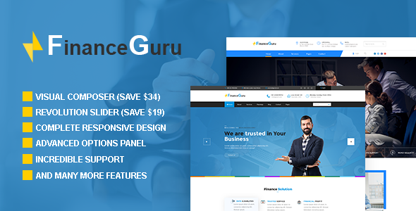 Finance Guru Preview Wordpress Theme - Rating, Reviews, Preview, Demo & Download