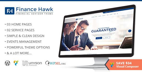 Finance Hawk Preview Wordpress Theme - Rating, Reviews, Preview, Demo & Download