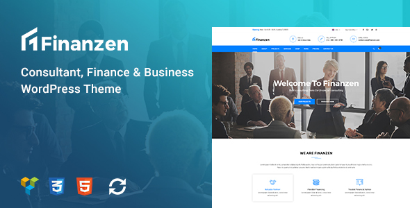 Finanzen Preview Wordpress Theme - Rating, Reviews, Preview, Demo & Download