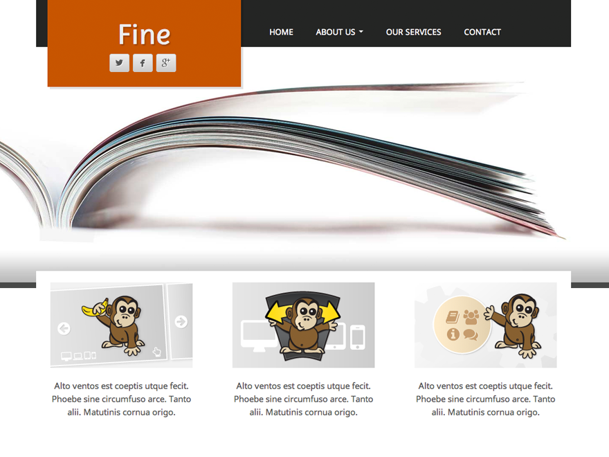 Fine Preview Wordpress Theme - Rating, Reviews, Preview, Demo & Download