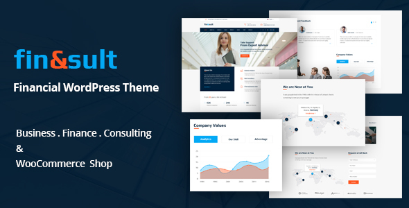 FinSult Preview Wordpress Theme - Rating, Reviews, Preview, Demo & Download