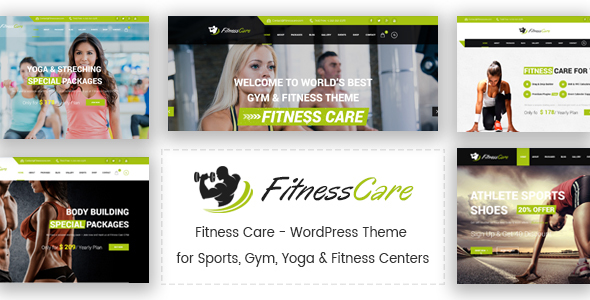 Fitness Care Preview Wordpress Theme - Rating, Reviews, Preview, Demo & Download