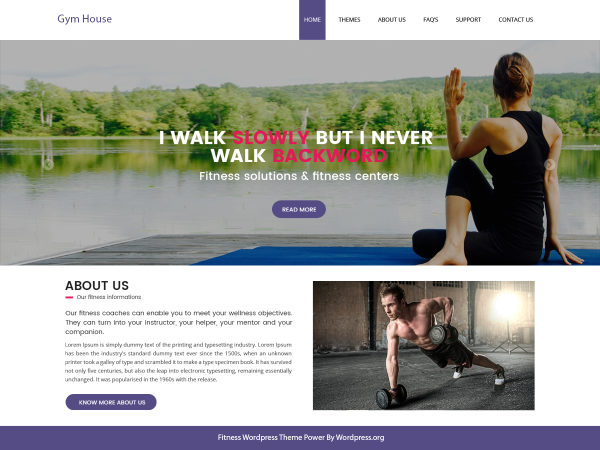 Fitness Gymhouse Preview Wordpress Theme - Rating, Reviews, Preview, Demo & Download