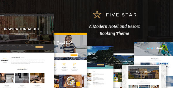 FiveStar Preview Wordpress Theme - Rating, Reviews, Preview, Demo & Download