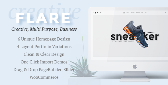 Flare Preview Wordpress Theme - Rating, Reviews, Preview, Demo & Download