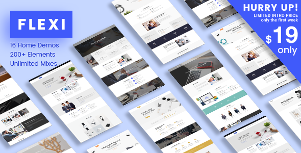 Flexi WP Preview Wordpress Theme - Rating, Reviews, Preview, Demo & Download