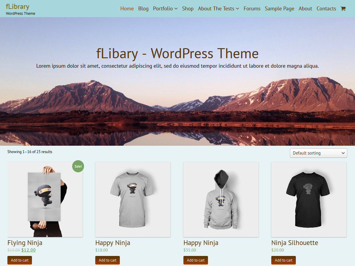 FLibrary Preview Wordpress Theme - Rating, Reviews, Preview, Demo & Download