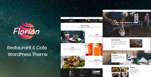 Florion Preview Wordpress Theme - Rating, Reviews, Preview, Demo & Download