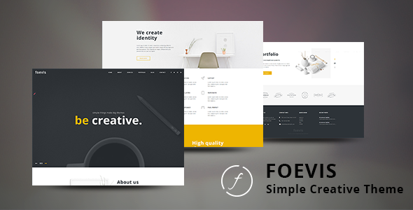 Foevis Preview Wordpress Theme - Rating, Reviews, Preview, Demo & Download