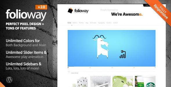 Folioway Preview Wordpress Theme - Rating, Reviews, Preview, Demo & Download