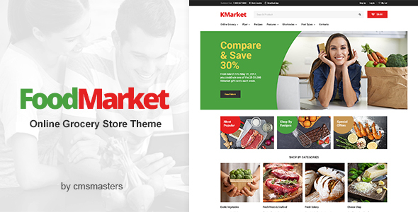 Food Market Preview Wordpress Theme - Rating, Reviews, Preview, Demo & Download