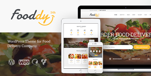Fooddy 24 Preview Wordpress Theme - Rating, Reviews, Preview, Demo & Download