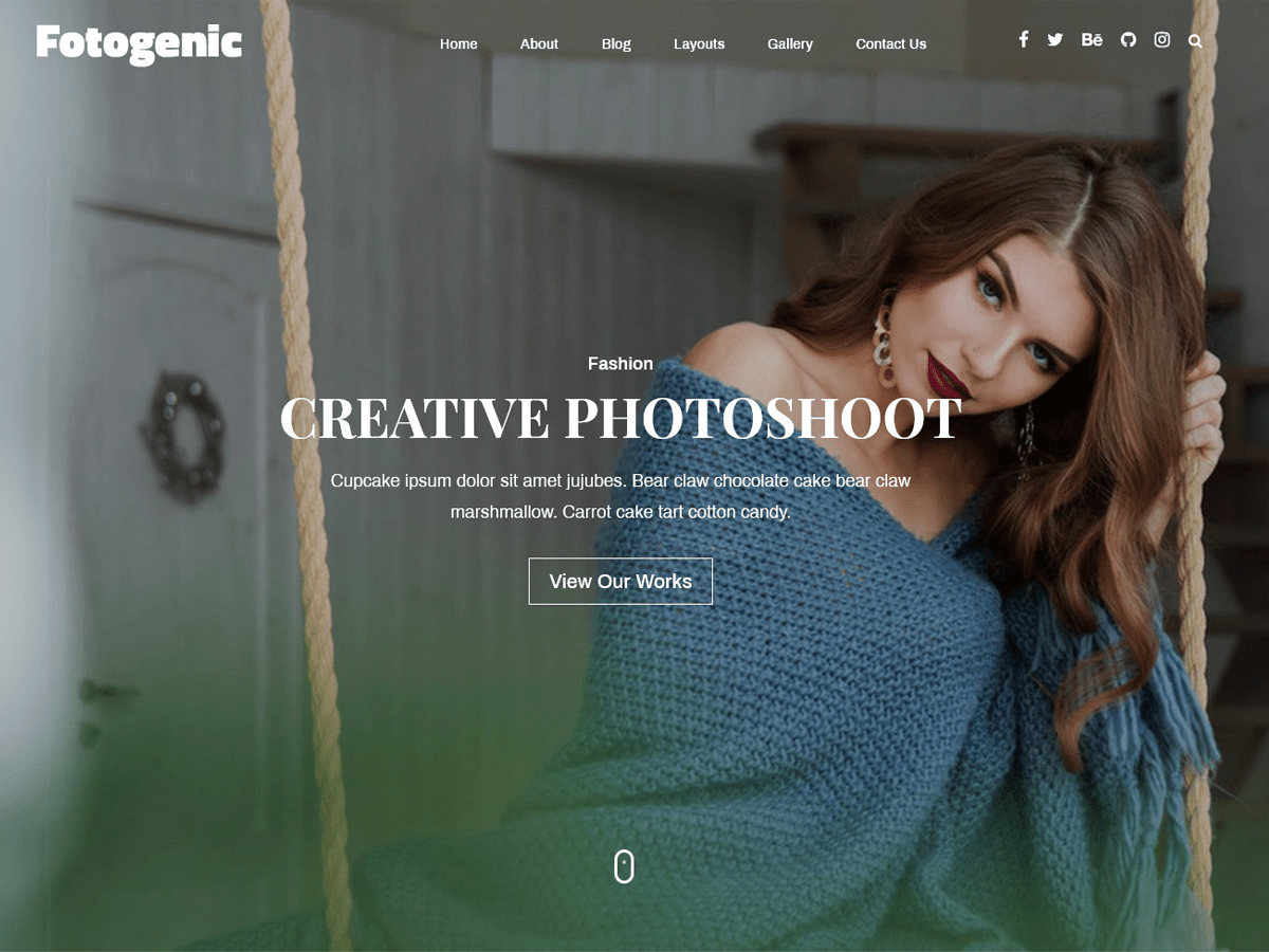 Fotogenic Preview Wordpress Theme - Rating, Reviews, Preview, Demo & Download