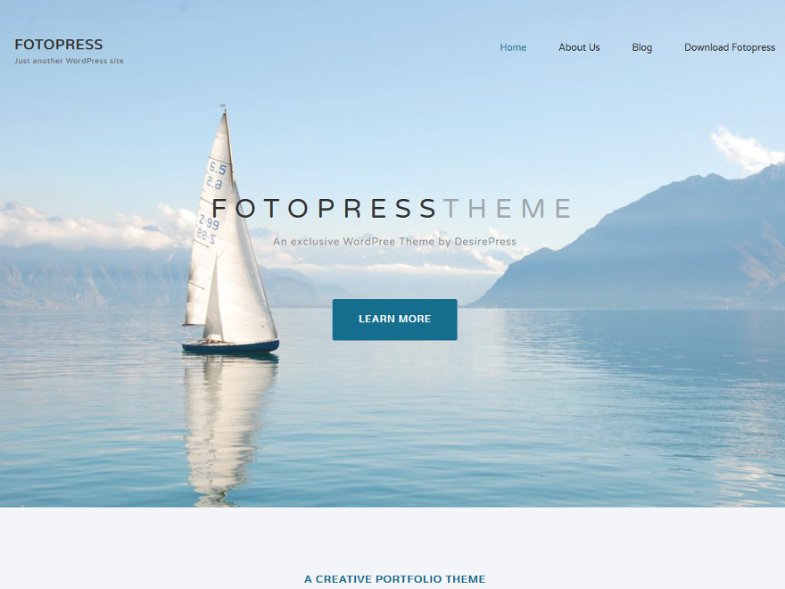 Fotopress Preview Wordpress Theme - Rating, Reviews, Preview, Demo & Download