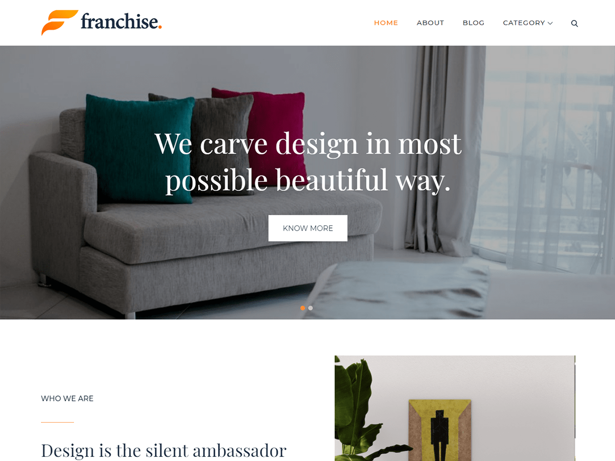 Franchise Preview Wordpress Theme - Rating, Reviews, Preview, Demo & Download