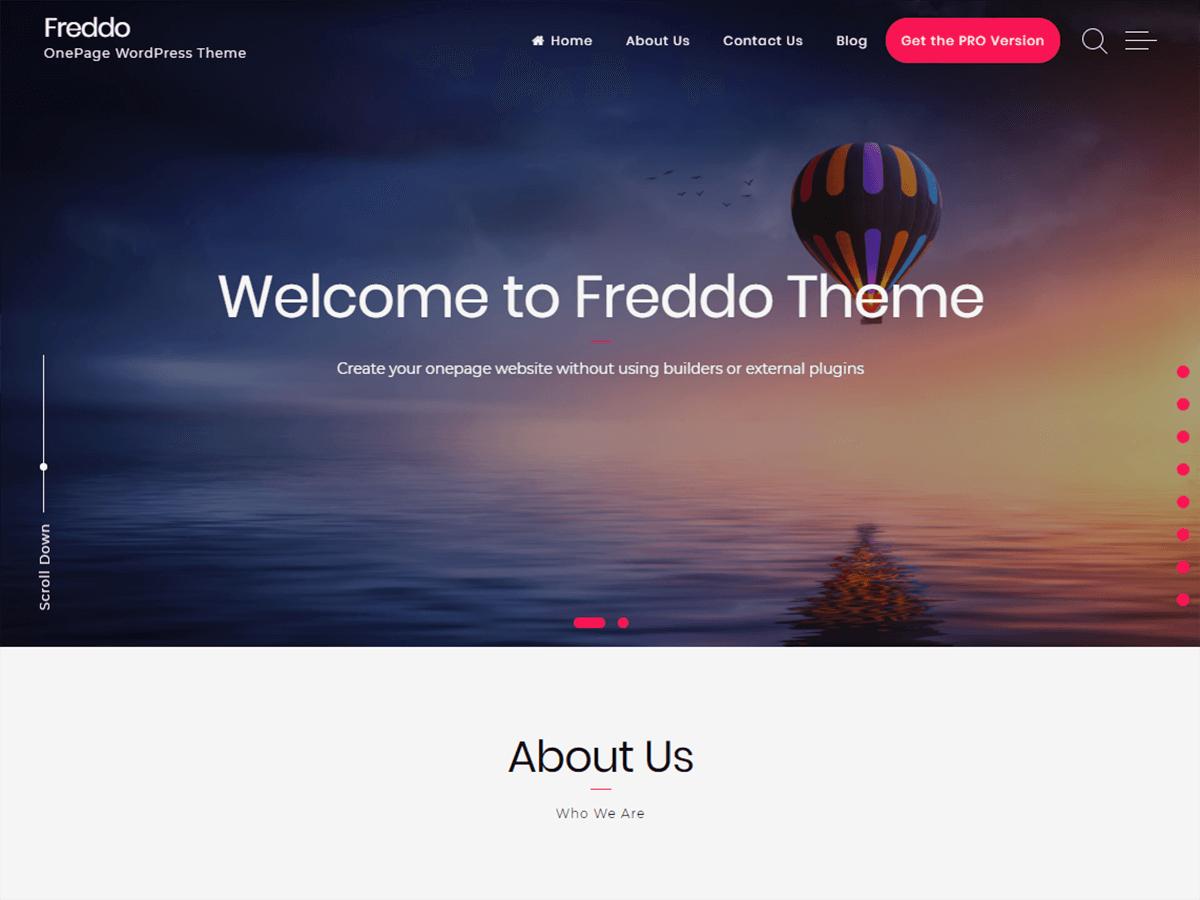 Freddo Preview Wordpress Theme - Rating, Reviews, Preview, Demo & Download