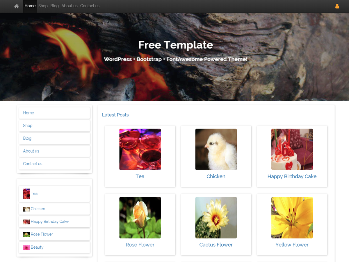 Free Template Preview Wordpress Theme - Rating, Reviews, Preview, Demo & Download