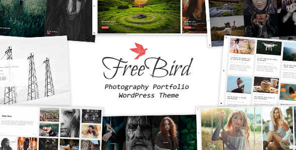 FreeBird Preview Wordpress Theme - Rating, Reviews, Preview, Demo & Download