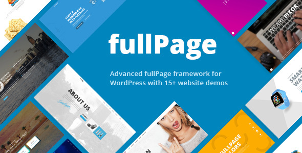 FullPage Preview Wordpress Theme - Rating, Reviews, Preview, Demo & Download