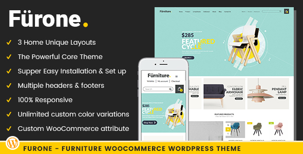 Furone Preview Wordpress Theme - Rating, Reviews, Preview, Demo & Download