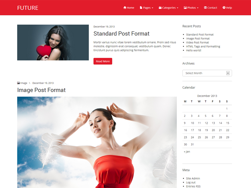 Future Preview Wordpress Theme - Rating, Reviews, Preview, Demo & Download