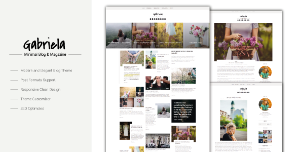 Gabriela Preview Wordpress Theme - Rating, Reviews, Preview, Demo & Download