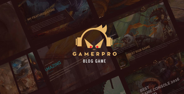 GAMERPRO Preview Wordpress Theme - Rating, Reviews, Preview, Demo & Download