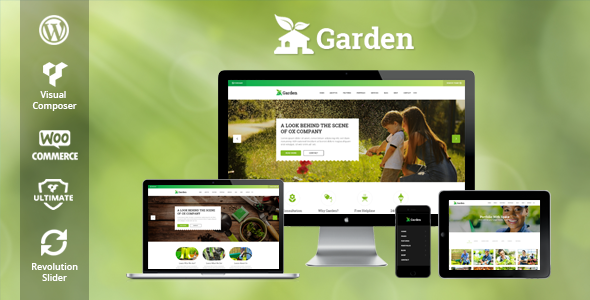 Garden Preview Wordpress Theme - Rating, Reviews, Preview, Demo & Download