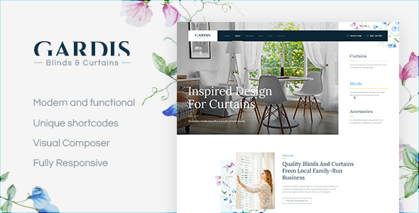 Gardis Preview Wordpress Theme - Rating, Reviews, Preview, Demo & Download