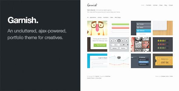 Garnish Preview Wordpress Theme - Rating, Reviews, Preview, Demo & Download