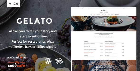 Gelato Preview Wordpress Theme - Rating, Reviews, Preview, Demo & Download