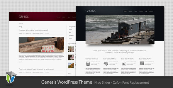 Genesis Preview Wordpress Theme - Rating, Reviews, Preview, Demo & Download