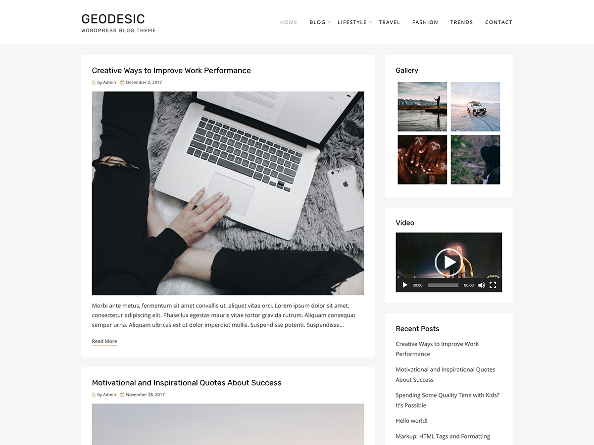 Geodesic Preview Wordpress Theme - Rating, Reviews, Preview, Demo & Download