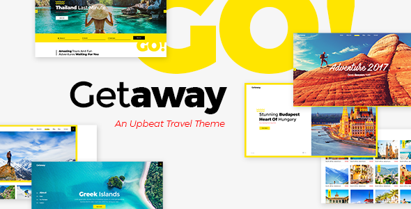 Getaway Preview Wordpress Theme - Rating, Reviews, Preview, Demo & Download