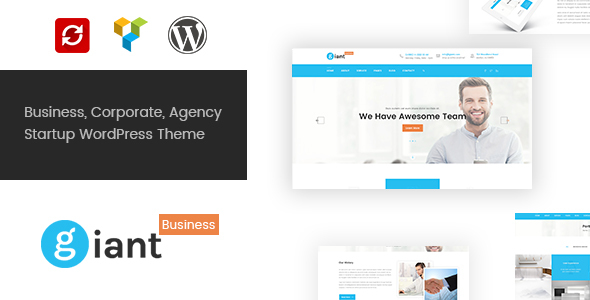 Giant Business Preview Wordpress Theme - Rating, Reviews, Preview, Demo & Download