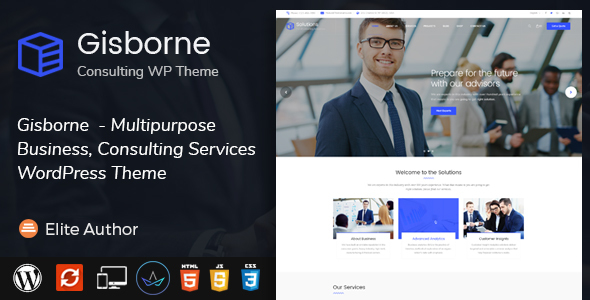 Gisborne Preview Wordpress Theme - Rating, Reviews, Preview, Demo & Download