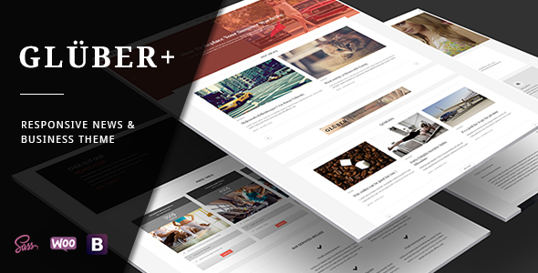 Gluber Preview Wordpress Theme - Rating, Reviews, Preview, Demo & Download