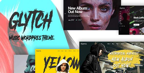 Glytch Preview Wordpress Theme - Rating, Reviews, Preview, Demo & Download