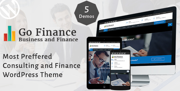 Go Finance Preview Wordpress Theme - Rating, Reviews, Preview, Demo & Download