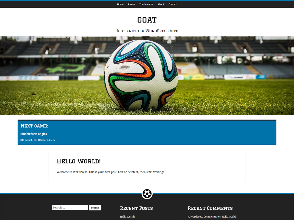 GOAT Preview Wordpress Theme - Rating, Reviews, Preview, Demo & Download