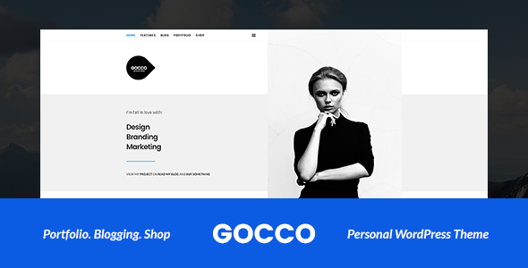 Gocco Preview Wordpress Theme - Rating, Reviews, Preview, Demo & Download