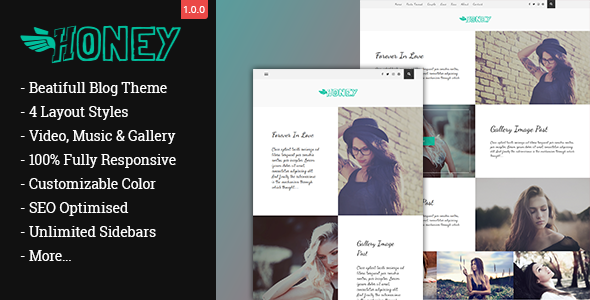 Gon Honey Preview Wordpress Theme - Rating, Reviews, Preview, Demo & Download