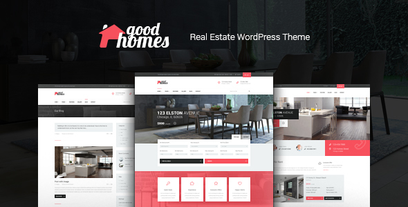 Good Homes Preview Wordpress Theme - Rating, Reviews, Preview, Demo & Download