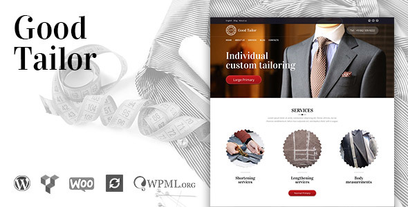 Good Tailor Preview Wordpress Theme - Rating, Reviews, Preview, Demo & Download