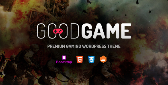 GoodGame Preview Wordpress Theme - Rating, Reviews, Preview, Demo & Download