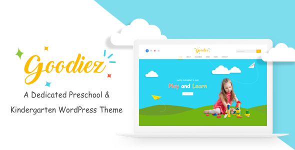 Goodiez Preview Wordpress Theme - Rating, Reviews, Preview, Demo & Download
