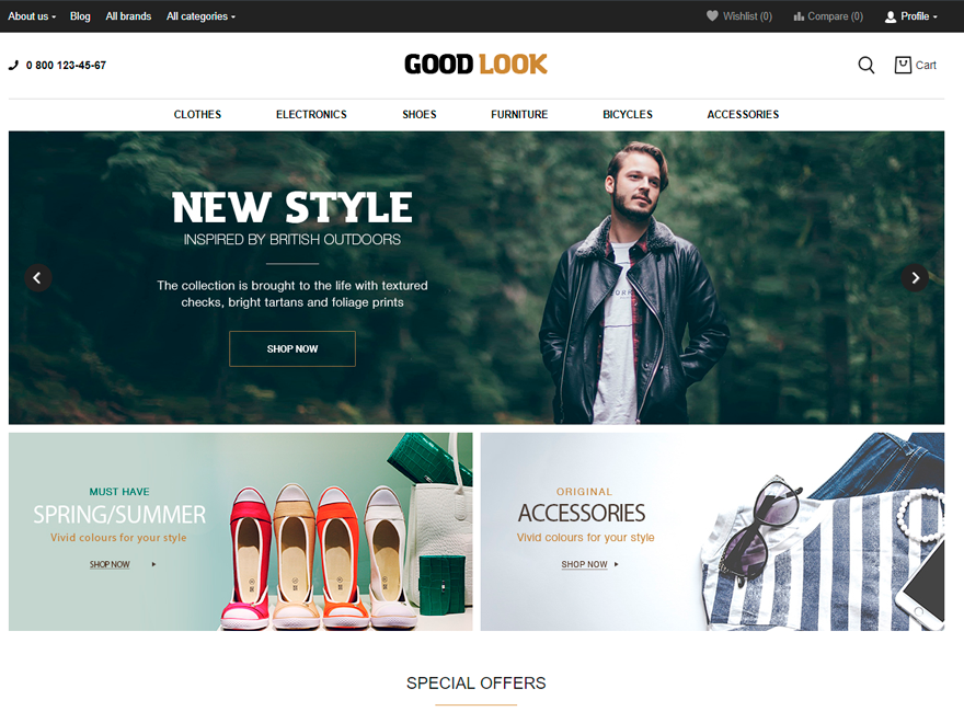 Goodlook Preview Wordpress Theme - Rating, Reviews, Preview, Demo & Download