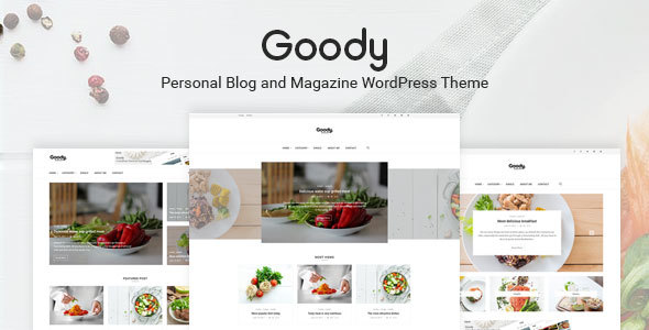 Goody Preview Wordpress Theme - Rating, Reviews, Preview, Demo & Download