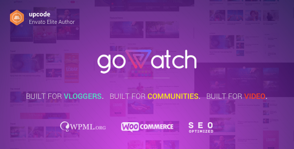 GoWatch Preview Wordpress Theme - Rating, Reviews, Preview, Demo & Download